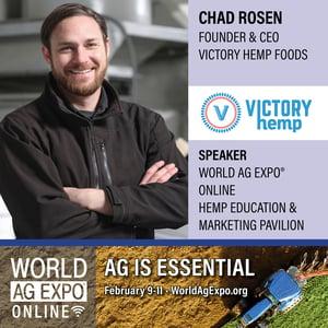 Chad Rosen World Ag Expo 2021 Speaker